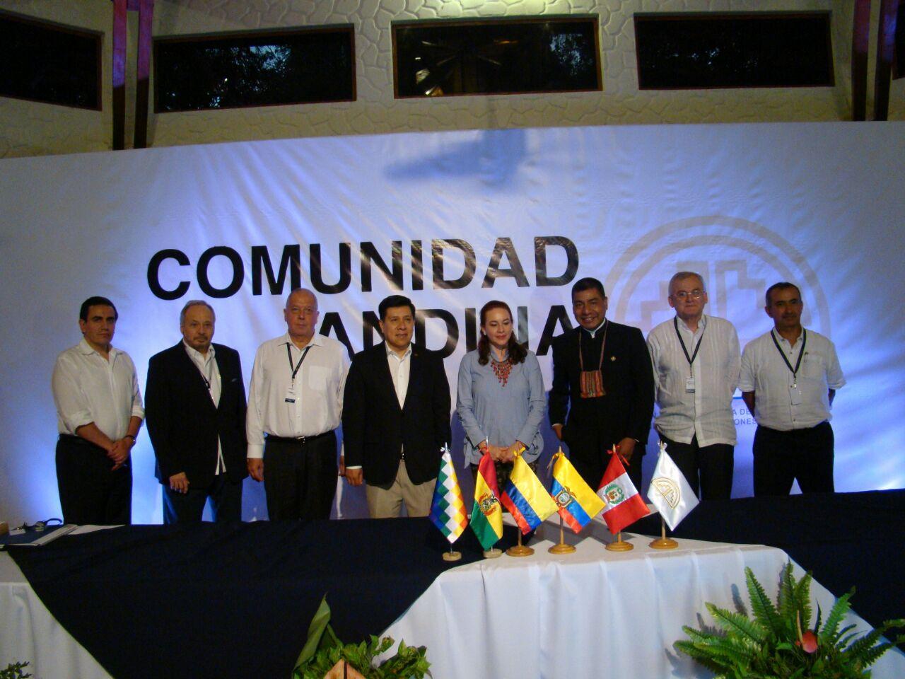 Resultado de imagen para BOLIVIA IMPULSA INTEGRACIÓN DESDE LA PRESIDENCIA DE LA CAN