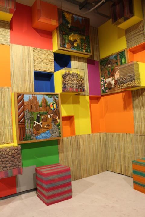 Expo Stand Bolivia : Exitosa participación de bolivia en la expo milán